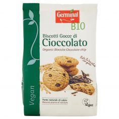 GERMINAL-Germinal Bio Biscotti Gocce di Cioccolato Vegan 250 g