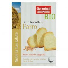 GERMINAL-Germinal Bio Fette biscottate Farro Senza zuccheri aggiunti 2 x 100 g