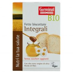 GERMINAL-Germinal Bio Fette biscottate Integrali Senza zuccheri aggiunti 2 x 100 g