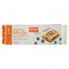 GERMINAL-Germinal Bio Sfogliatina Mirtillo con grano Kamut 4 x 50 g