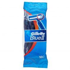 BLUE II-Gillette Blue II Rasoio da Uomo Usa e Getta - 10 rasoi