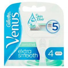 VENUS-Gillette Venus Sensitive Extra Smooth Lame per Rasoio da Donna 4 Ricariche