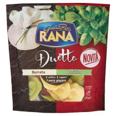 DUETTO-Giovanni Rana Duetto Burrata - Basilico 250 g