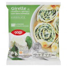 Coop-Girelle di ricotta e spinaci con besciamella Surgelate 560 g