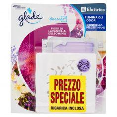 GLADE-glade discreet Elettrico Fiori di lavanda & Gelsomino 8 g
