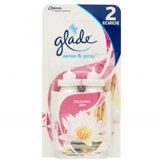 GLADE-glade sense & spray 2 Ricariche Relaxing Zen 2 x 18 ml