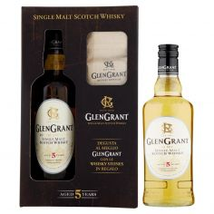 GLEN GRANT-Glen Grant Single Malt Scotch Whisky Aged 5 Years 70 cl