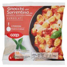 Coop-Gnocchi alla Sorrentina con pomodoro, mozzarella e basilico Surgelati 550 g