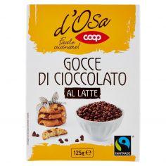 Coop-Gocce di Cioccolato al Latte 125 g