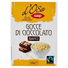 Coop-Gocce di Cioccolato Bianco 125 g