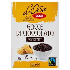 Coop-Gocce di Cioccolato Fondente 125 g