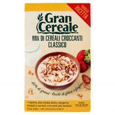 GRANCEREALE-Gran Cereale Mix di Cereali Croccanti Classico 330 g