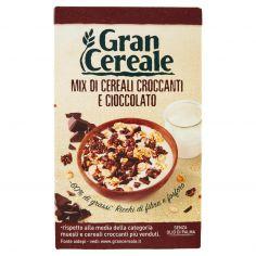 GRANCEREALE-Gran Cereale Mix di Cereali Croccanti e Cioccolato 300 g