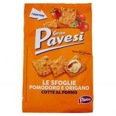 GRAN PAVESI-Gran Pavesi le Sfoglie Pomodoro e Origano Cotte al Forno 160g