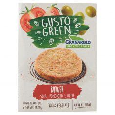 GRANAROLO-Granarolo 100% Vegetale Gusto Green Burger Soia, Pomodoro e Olive 2 x 90 g