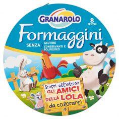GRANAROLO-Granarolo Formaggini 8 Spicchi 140 g