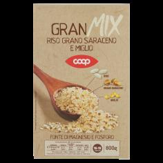 Coop-GranMix Riso, Grano Saraceno e Miglio 800 g