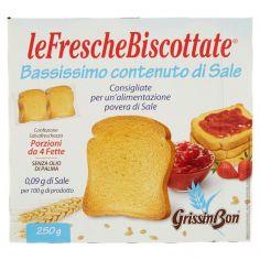 GRISSIN BON-GrissinBon leFrescheBiscottate Bassissimo contenuto di Sale 250 g