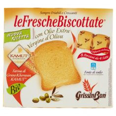 GRISSIN BON-GrissinBon leFrescheBiscottate Farina di Grano Khorasan Kamut Bio 250 g