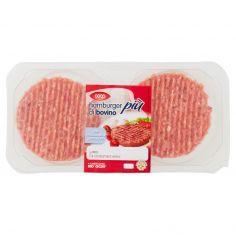Coop-hamburger di bovino più con mozzarella e pomodoro 2 x 110 g