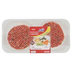 Coop-Hamburger di bovino più con verdure 2 x 110 g