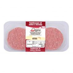 Coop-Hamburger di suino e bovino adulto 220 g