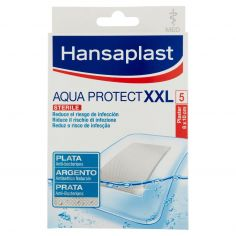 HANSAPLAST-Hansaplast Aqua Protect XXL Plaster 8 x 10 cm 5 pz