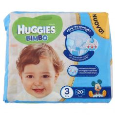 HUGGIES-Huggies Bimbo 3 4-9 kg 20 pz