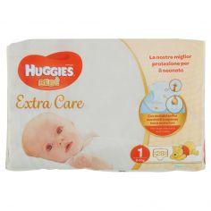 EXTRA CARE-Huggies Extra Care Bebè Pannolini 1 2-5 kg 28 pz