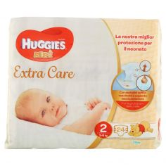 EXTRA CARE-Huggies Extra Care Bebè Pannolini 2 3-6 kg 24 pz