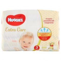 EXTRA CARE-Huggies Extra Care Pannolini 3 4-9 kg 28 pz