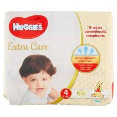 EXTRA CARE-Huggies Extra Care Pannolini 4 7-14 kg 26 pz