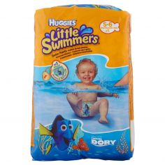 LITTLE SWIMMERS-Huggies Little Swimmers Disney Finding Dory 5-6 12kg-18kg 11 pz