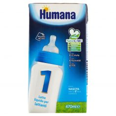 HUMANA-Humana 1 Latte liquido per lattanti 470 ml