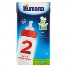 HUMANA-Humana 2 Latte di proseguimento 470 ml