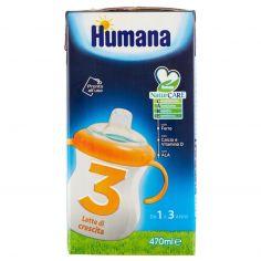 HUMANA-Humana 3 Latte di crescita 470 ml