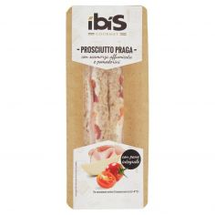IBIS-ibis Gourmet Prosciutto Praga con scamorza affumicata e pomodorini 170 g