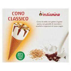 INDIANINO-indianino Cono Classico 4 x 80 g