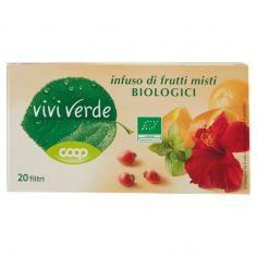 Coop-infuso di frutti misti Biologici 20 filtri 60 g