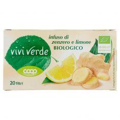 Coop-infuso di zenzero e limone Biologico 20 filtri 37 g