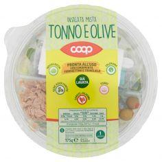 Coop-Insalata Mista Tonno e Olive 175 g
