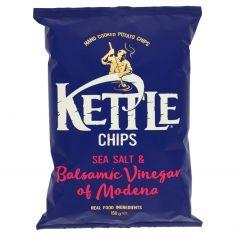 KETTLE CHIPS-Kettle Chips Sea Salt & Balsamic Vinegar of Modena 150 g