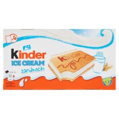 KINDER-Kinder Ice Cream sandwich 6 x 35 g