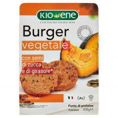 KIOENE-Kioene Burger vegetale con semi di zucca e di girasole* 200 g