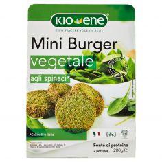 KIOENE-Kioene Mini Burger vegetale agli spinaci* 200 g