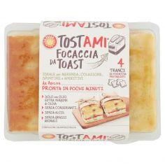 La Pizza +1 Tostami Focaccia da Toast 4 x 67,5 g