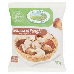 LA VALLE DEGLI ORTI-La Valle Degli Orti Fantasia di Funghi con Funghi Porcini 300 g
