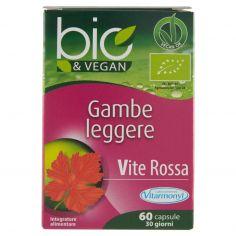 VITARMONYL-Laboratoires Vitarmonyl bio&Vegan Gambe leggere 60 capsule 21,78 g