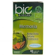 VITARMONYL-Laboratoires Vitarmonyl bio&Vegan Memoria 40 capsule 20,8 g