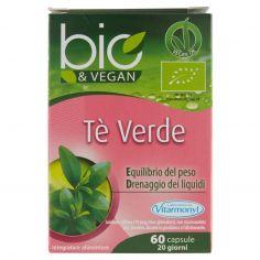 VITARMONYL-Laboratoires Vitarmonyl bio&Vegan Tè Verde 60 capsule 30 g